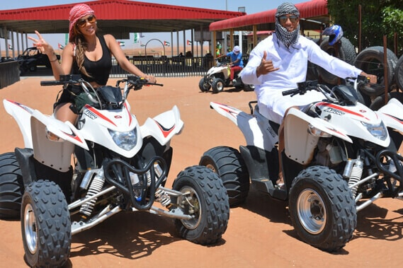 Quad Motorbike Buggy Tour and Rental Dubai