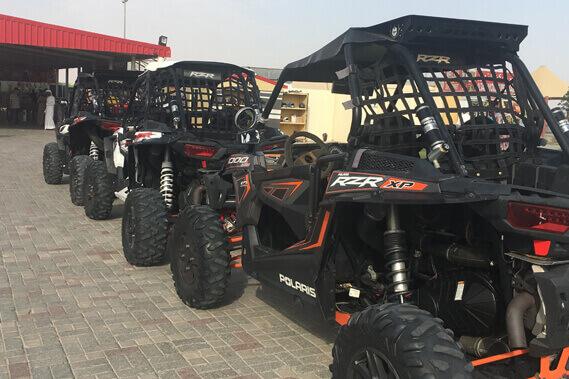 Polaris-RZR Buggy Desert Tour | Quad bike - Motorcycle Dubai